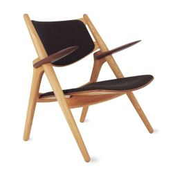 Sawbuck Lounge Chair