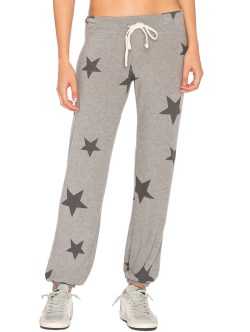 SUNDRY Sweater Knit Star Sweatpants