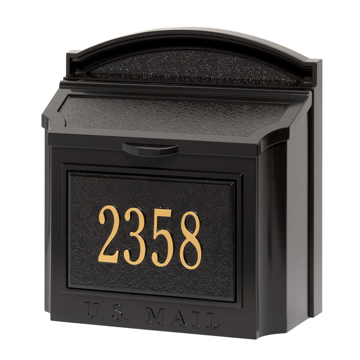 Locking Wall Mounted Mailbox by Whitehall Products