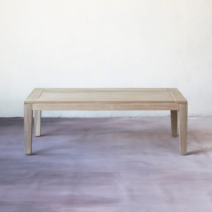 Slatted Teak Coffee Table