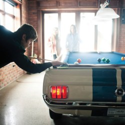 1965 Shelby GT 350 Limited Edition Autographed Pool Table