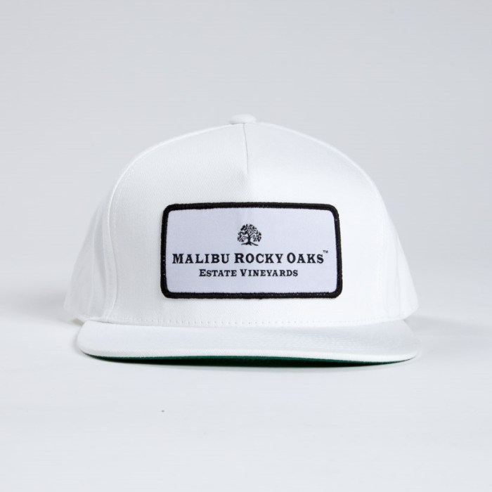 Malibu Rocky Oaks Winery Estate Vineyard Classic White Snapback Hat
