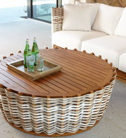 Palecek San Martin Handcrafted Teak Coffee Table