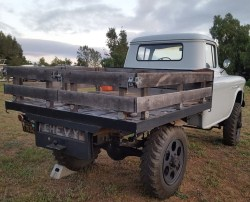 1955 Chevrolet 3500 Apache Stake Bed 4×4 Truck