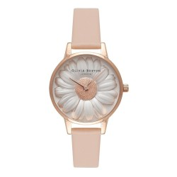 Floral Show 3D Daisy Watch by Olivia Burton
