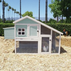 Nantucket Chicken Coop Beach House by Precision Pet