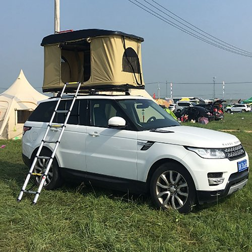 Car Tent 1-2 Person Canvas Fabric Car Roof Top