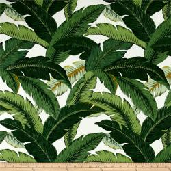 Tommy Bahama Indoor Outdoor Tropical Island Hopping Emerald Fabric