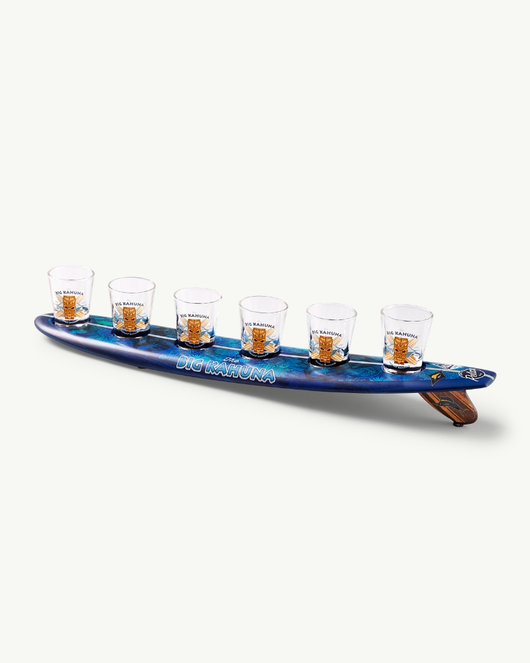 Big Kahuna Surfboard Shot Glasses Set