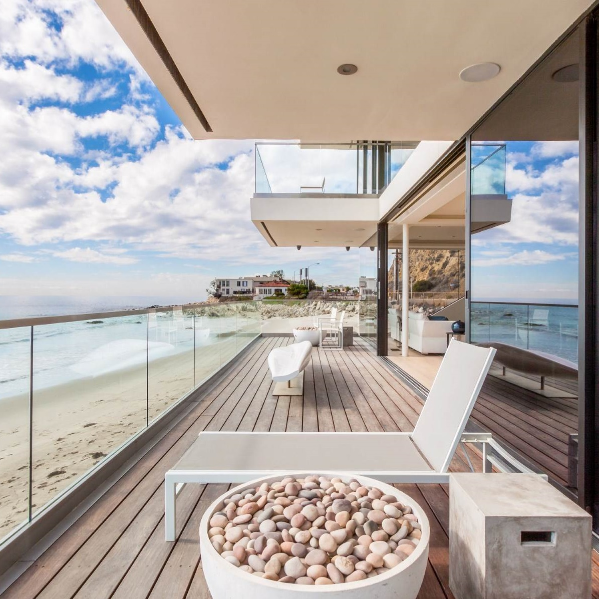 Breathtaking Malibu Beach House 21660 Pacific Coast Highway