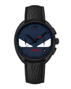 Fendi 40mm Monster Eyes Chronograph Mens Watch