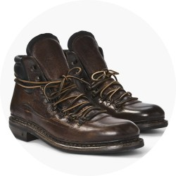 John Varvatos Rivington Norwegian Hiker Boots