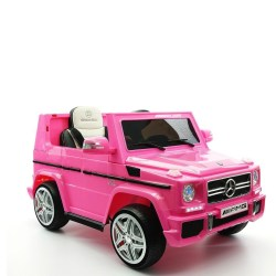 MERCEDES G65 AMG PINK G-WAGON 2017 LICENSED ELECTRIC KIDS RIDE-ON CAR