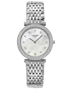 Longines Women's Swiss La Grande Classique de Longines Diamond Accents Stainless Steel Bra ...