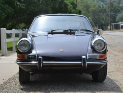 1968 Porsche 912 Original California Black License Plate Car