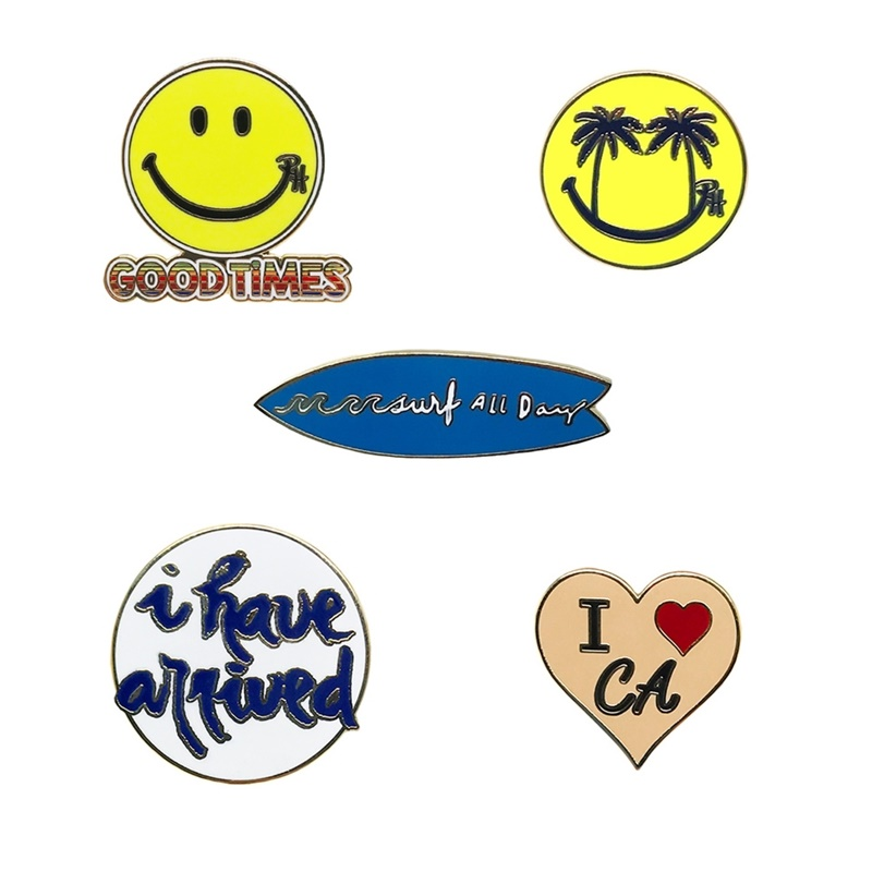Good Times Lapel Pin Pack Designed by Ron Herman