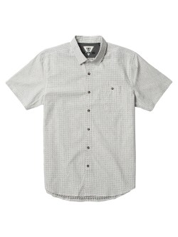 VISSLA Corked Short Sleeve Calipher Print Mens Shirt