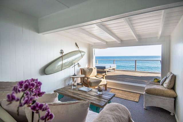 Beautiful Shabby Chic Malibu Beach House Vacation Rental