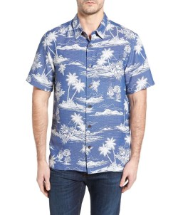 JACK O'NEILL Waimea Regular Fit Hawaiian Print Camp Shirt