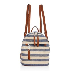 Splendid Park City Striped Mini Backpack