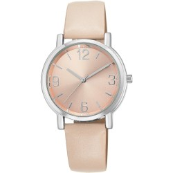 Casual Blush Womens Round Watch