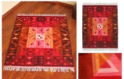 Calendar Magic 4 x 5.5 Wool Rug