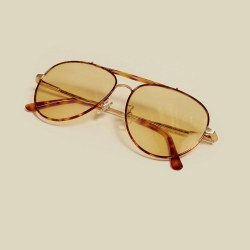 Crap Eyewear The Road Crue Gold Tortoise Sunglasses