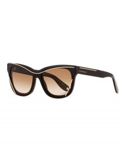 Givenchy Square Metal-Trim Sunglasses