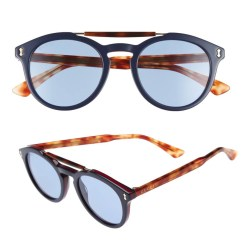 GUCCI Vintage Pilot 50mm Mens Sunglasses