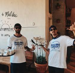 MALIBU BURGER CO. Just Opened in Malibu Village 🍔🤙🏽