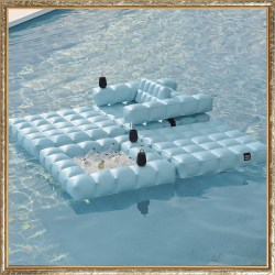 Modul'Air Inflatable Pool Lounge Set by Porta Forma