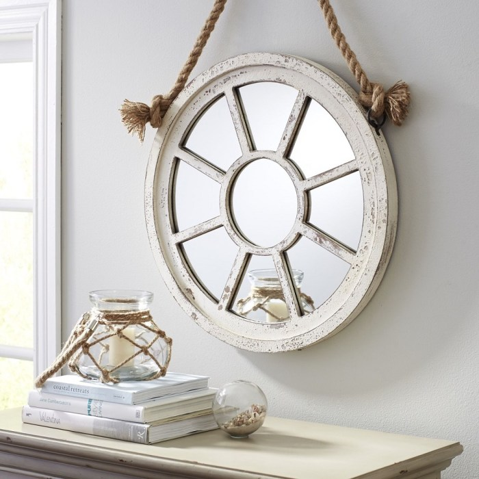 Window Round Mirror