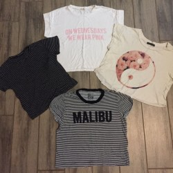 Brandy Melville Lot of Shirts Womens Tops One Size Fits All