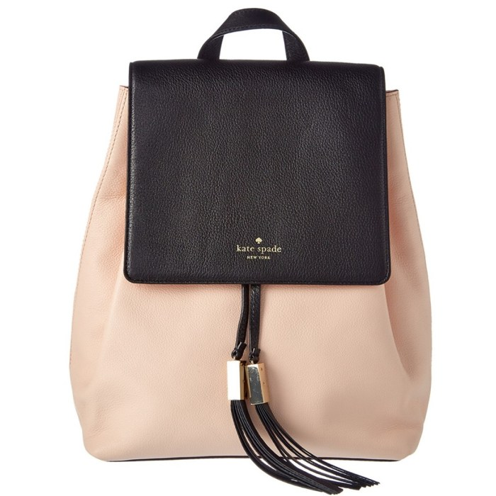 Kate Spade New York Grey Street Wilder Leather Backpack