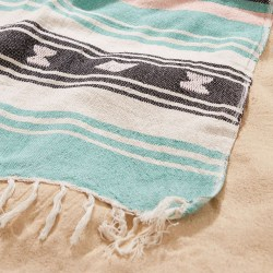 Moriah Stripe Throw Beach Blanket