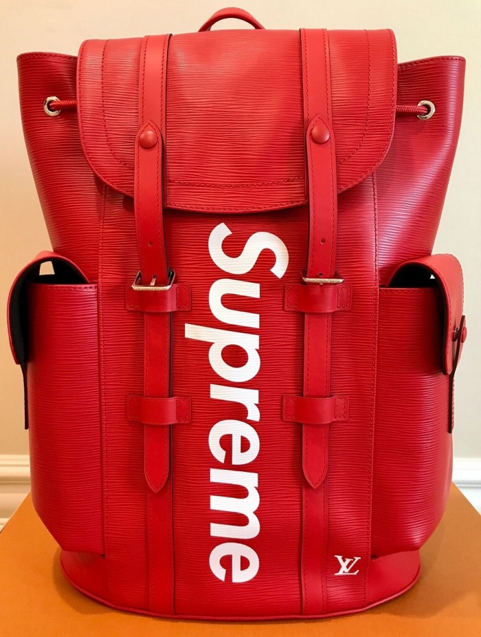 Louis Vuitton x SUPREME Christopher Backpack