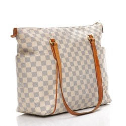 LOUIS VUITTON Damier Azur Totally MM Bag