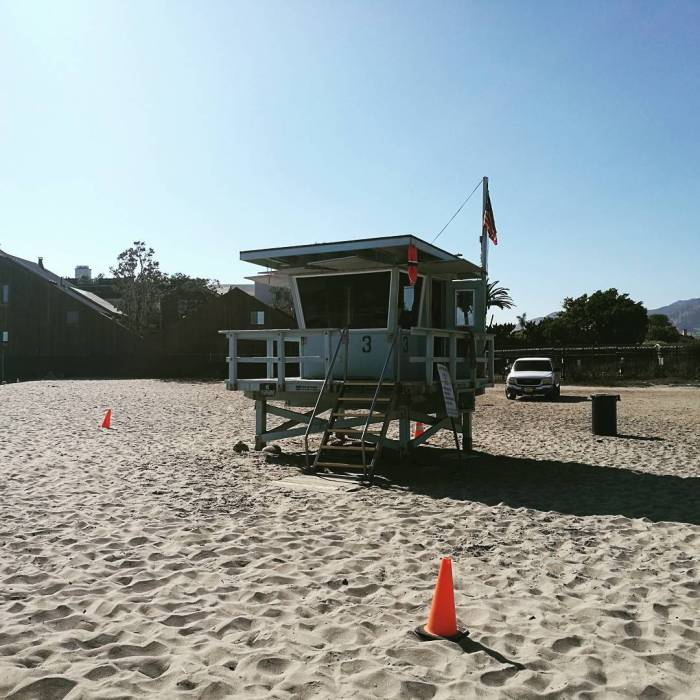 Third Point Malibu Surfrider Beach Lifeguard Tower
