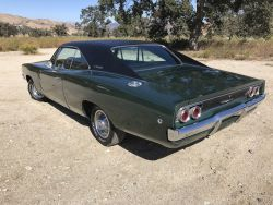 1968 Dodge Charger Factory 383 Original Motor Classic Muscle Car