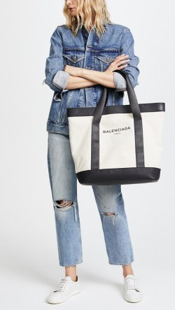 Balenciaga Canvas Preowned Tote Bag