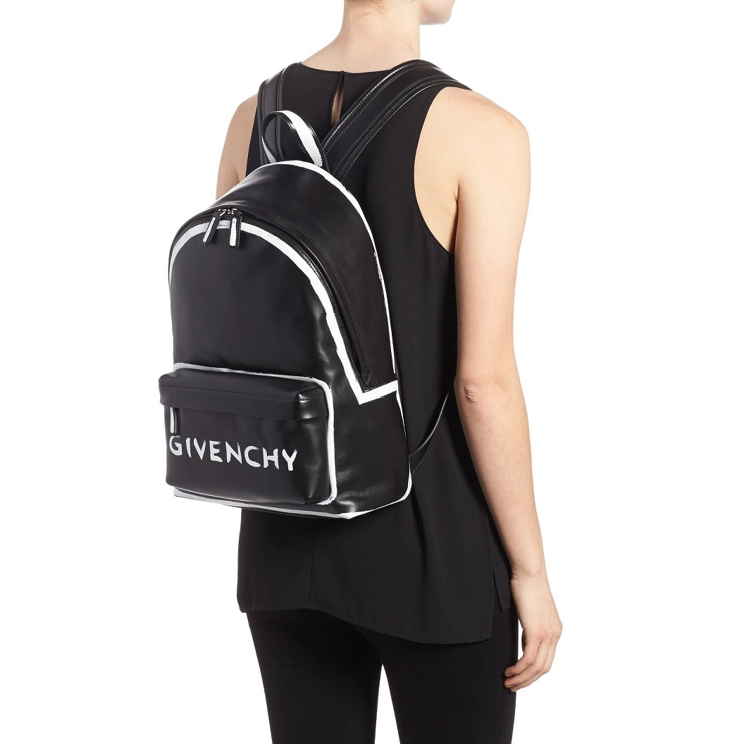 Givenchy Graffiti Calfskin Leather Backpack