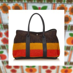 Hermes Garden Party Rocabar Vintage Tote Bag