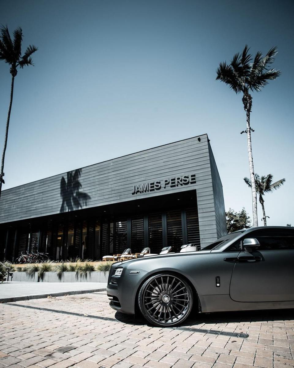 James Perse Store in the Malibu Lumber Yard