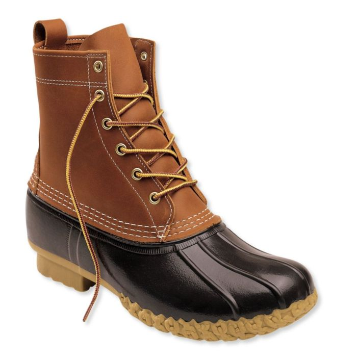 The Original L.L.Bean 8″ Mens Boots Made in Maine since 1912