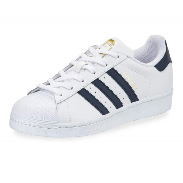 Adidas Superstar Original Navy Fashion Womens Sneakers