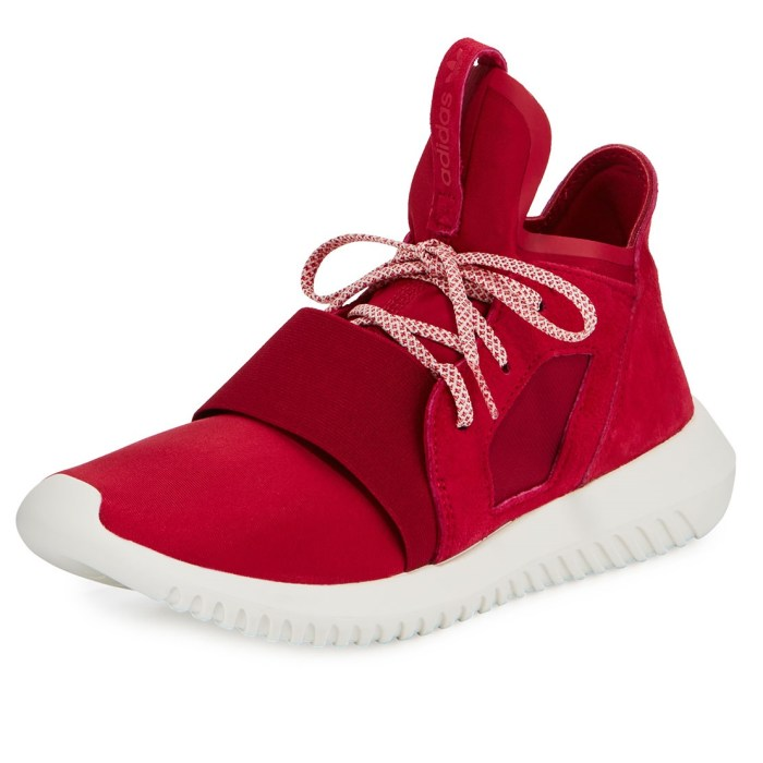 Adidas Tubular Defiant High-Top Pink Womens Sneakers
