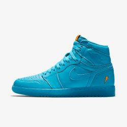 "Air Jordan 1 Retro High OG Gatorade ""Cool Blue"" Mens Shoes"