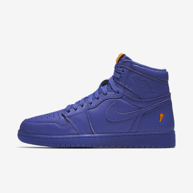Air Jordan 1 Retro High OG Gatorade GRAPE Mens Sneakers