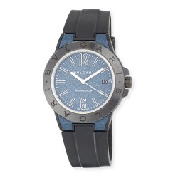 BVLGARI 41mm Ceramic Diagono Magnesium Womens Watch