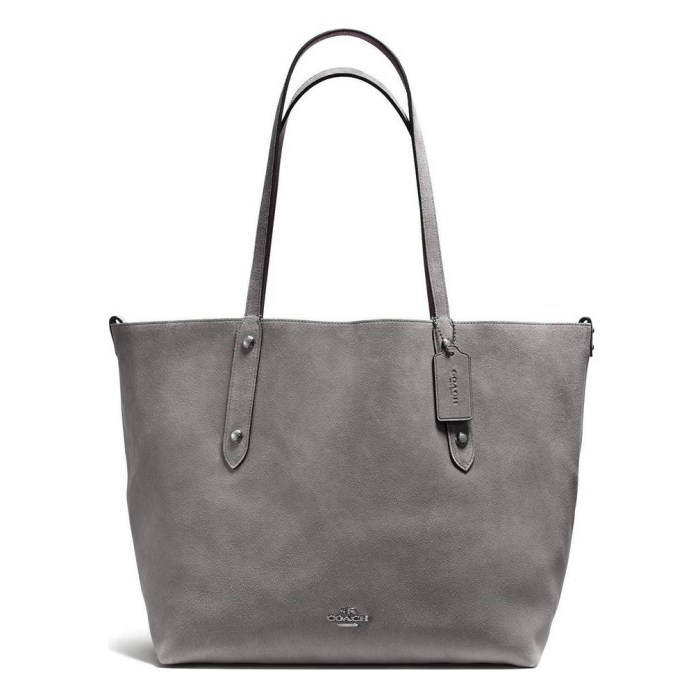 COACH Large Market Reversible Leather Tote Bag
